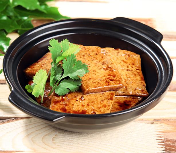 漯河黄焖鸡酱料,黄金豆腐